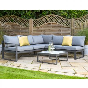 Hartman Vienna 5 Seater Corner Lounge Set with Integrated Lounger