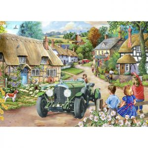 House Of Puzzles Big 500 The Harrow Collection MC547 Vintage Run Jigsaw Puzzle - 500 Piece
