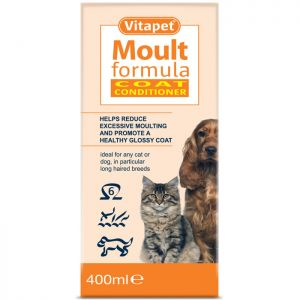 Vitapet Moult Formula Coat Conditioner - 400ml