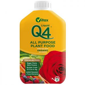 Vitax Q4 Liquid Plant Food - 1L