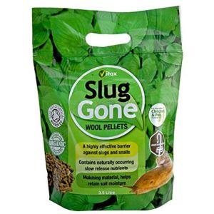 Vitax Slug Gone Wool Pellet Pouch - 3.5L