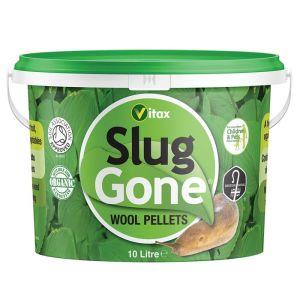 Vitax Slug Gone Wool Pellet Tub - 10L