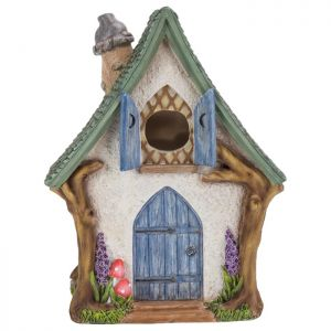 Miniature World Woodland Cottage Birdhouse