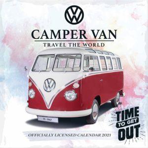 Volkswagen Campervan Calendar 2021