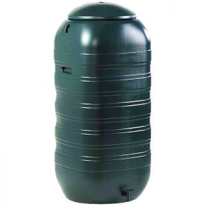 Ward Slimline Water Butt with Lid and Tap - 250 Litre