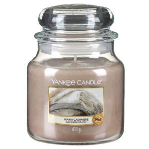 Yankee Candle Medium Housewarmer Jar – Warm Cashmere