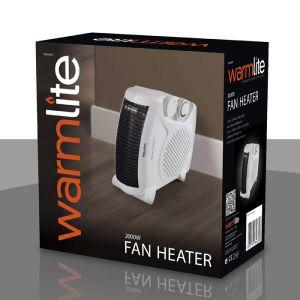 Warmlite Portable Fan Heater - 2kW