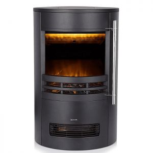 Warmlite 2000W Elmswell Curved Contemporary Electric Stove