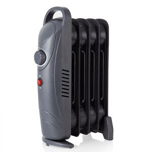 Warmlite WL43002YDT Compact Oil Filled Radiator – Dark Titanium, 650w