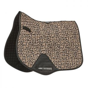 Weatherbeeta Prime All Purpose Saddle Pad - Brown Leopard