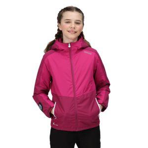 Regatta Children's Beamz Jacket - Raspberry Radiance/ Fuchsia