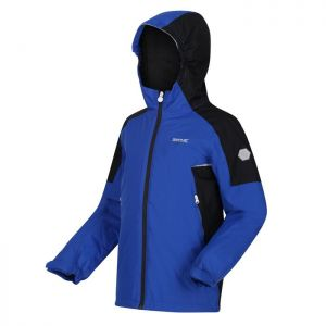 Regatta Children's Hurdle IV Jacket - Surf Spray/Black
