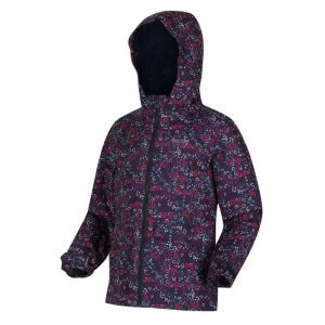 Regatta Children's Bixby Jacket - Navy Ditsy Floral