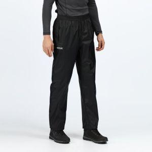 Regatta Men's Pack-It Overtrousers - Black