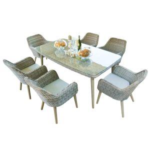 Wild Garden Weimar 6 Seater Dining Set