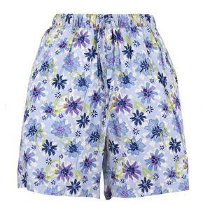 Weird Fish Women's Sundance Printed Beach Shorts – Lilac Hint