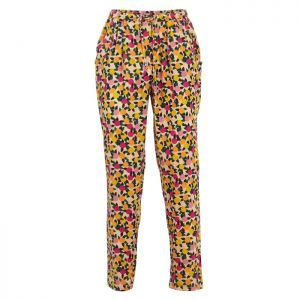 Weird Fish Women's Tinto Printed Trousers – Apricot