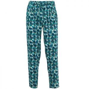 Weird Fish Women's Tinto Printed Trousers – Bottle Green