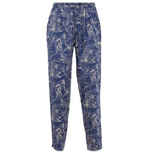 Weird Fish Women's Tinto Printed Trousers – Ensign Blue