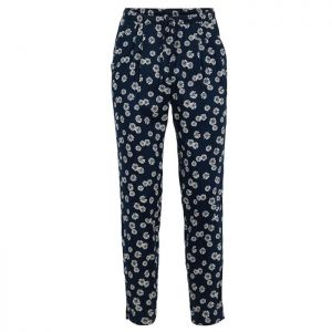 Weird Fish Women's Tinto Printed Trousers – Navy