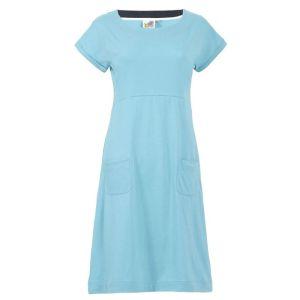 Weird Fish Women's Viola Jersey Dress – Sky Blue