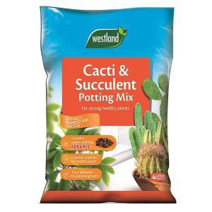 Westland Cacti & Succulent Seramis Enriched Potting Mix – 4L