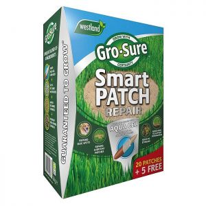 Westland Gro-Sure Smart Patch Lawn Seed – 20+5 Patch