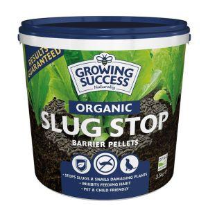 Westland Growing Success Organic Slug Stop Barrier Pellets Tub – 3.5kg