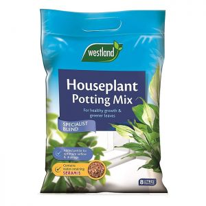 Westland Houseplant Seramis Enriched Potting Mix – 8L