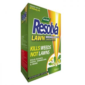 Westland Resolva Lawn Weed Killer Extra Concentrate – 500ml