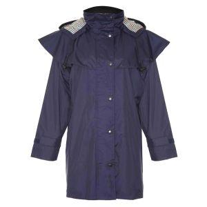 Champion Women's Windsor Three-Quarter Length Waterproof Coat – Navy