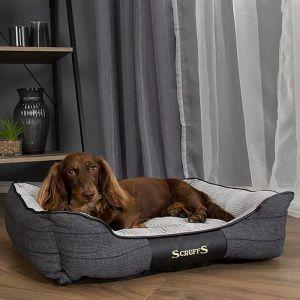 Scruffs Windsor Dog Bed – Charcoal