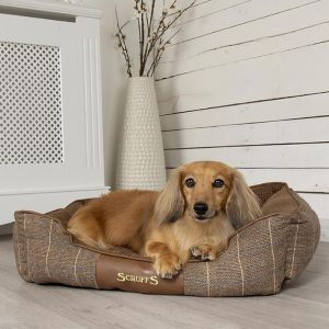 Scruffs Windsor Dog Bed – Chestnut
