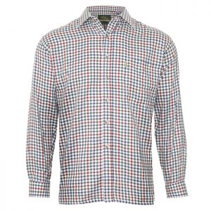 Champion Men's York Long Sleeved Shirt - Wine