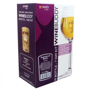Young's WineBuddy Sauvignon Blanc Kit - 30 Bottle