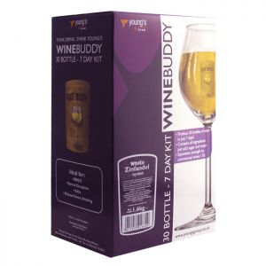 Young's WineBuddy White Zinfandel Kit - 30 Bottles