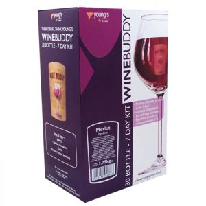 Young's WineBuddy Merlot Kit - 30 Bottle