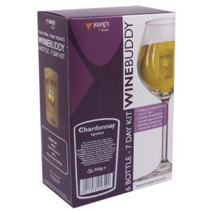 Young's WineBuddy Chardonnay Kit - 6 Bottle