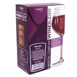 Young's WineBuddy Merlot Kit - 6 Bottle