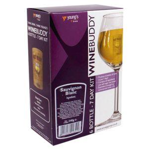 Young's WineBuddy Sauvignon Blanc Kit - 6 Bottle