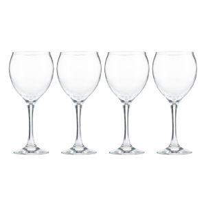 Ravenhead Fresco 375ml Wine Glass, Pack of 4