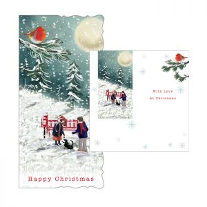 Winter Stroll Christmas Cards – 10 Pack