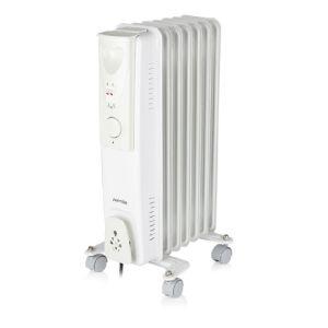Warmlite WL43003YW Oil Filled Radiator - 1500w