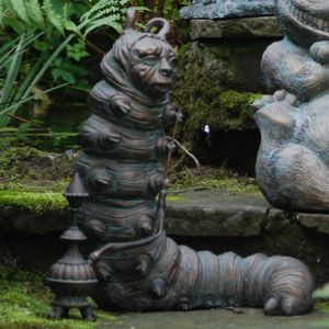 Home & Garden Alice in Wonderland Garden Ornament - Caterpillar
