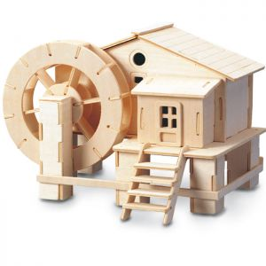 Woodcraft Construction Kit - Water Wheel