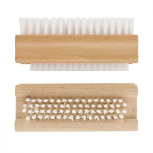 Elliot Double Sided Wooden Nail Brush