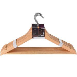 Wooden Coat Hangers - 8 Pack