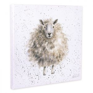 Wrendale Designs 'The Woolly Jumper' Canvas – 20cm