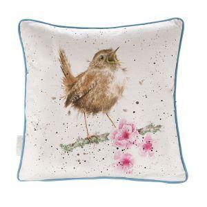 Wrendale 'Little Tweets' Wren Cushion