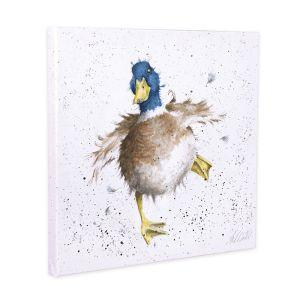 Wrendale Designs 'A Waddle & a Quack' Canvas – 20cm